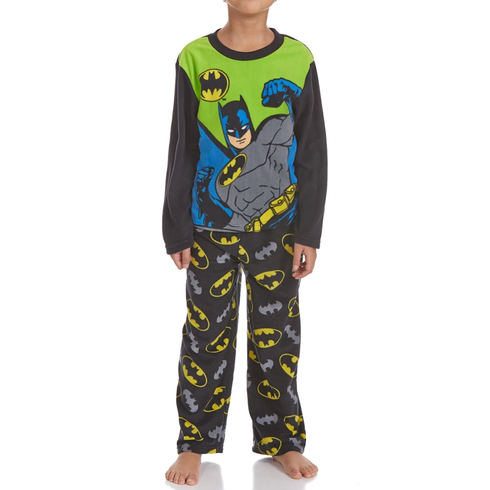 Ame Boys Two-Piece Batman Fleece Sleep Set - Various Patterns, 4