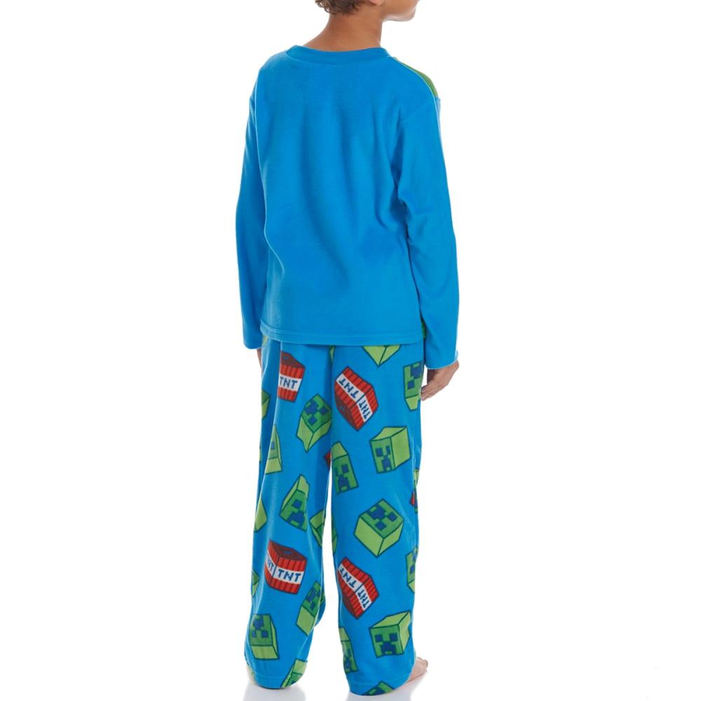 AME Boys' Two-Piece Minecraft Fleece Sleep Set - ASSORTED