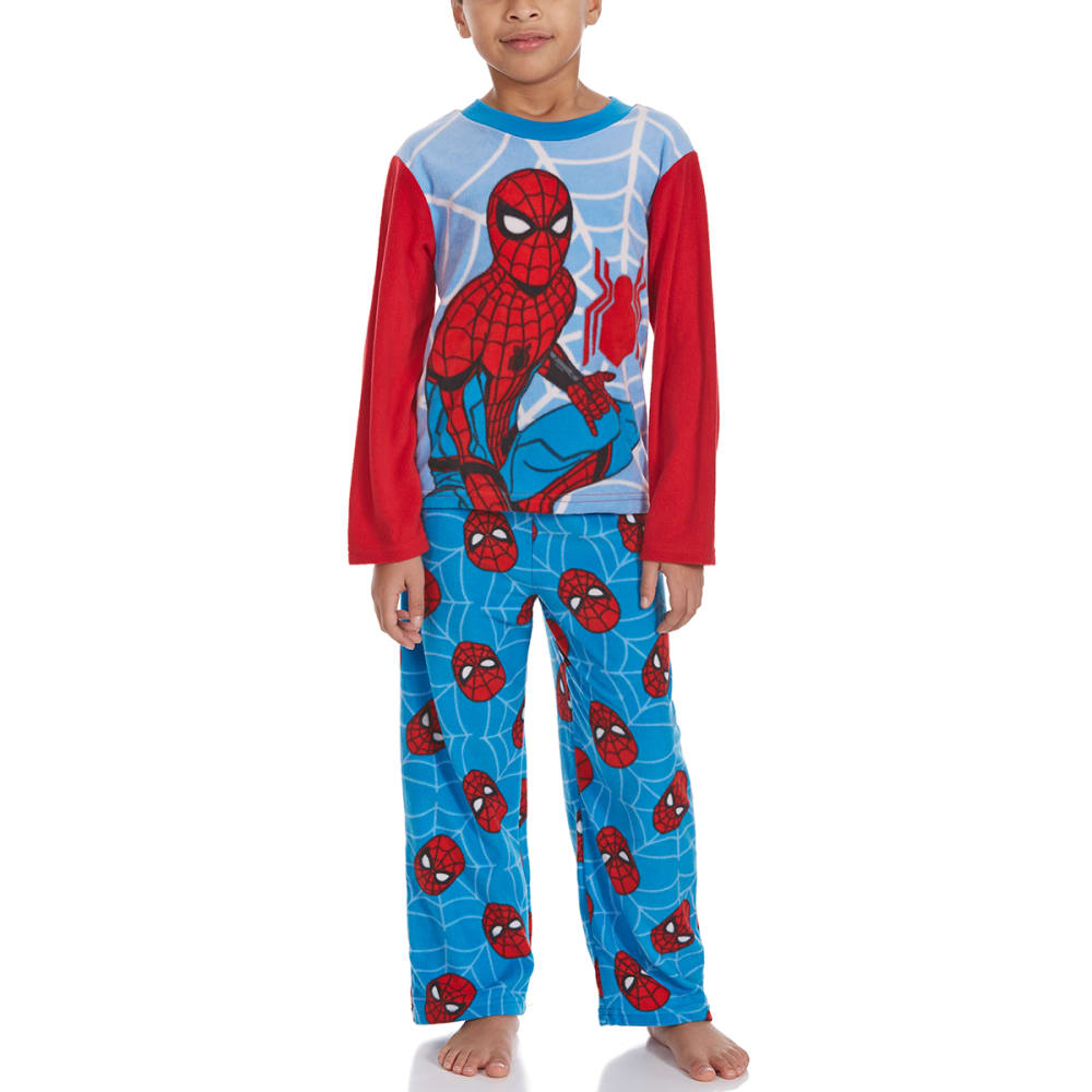 Ame Boys Two-Piece Spider-Man Fleece Sleep Set - Various Patterns, 4