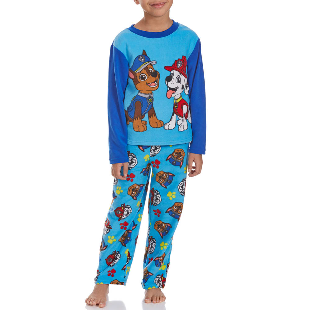 Ame Boys Two-Piece Paw Patrol Fleece Sleep Set - Various Patterns, 4