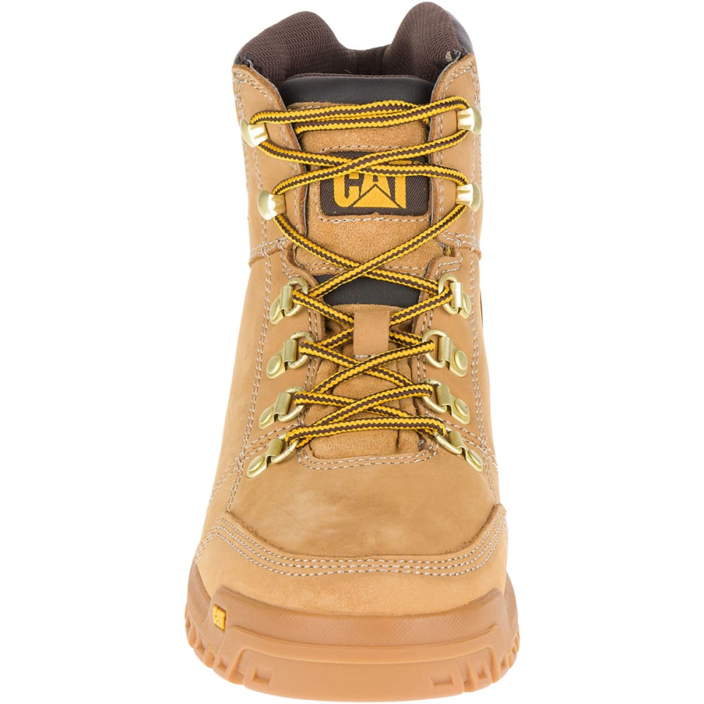 CATERPILLAR Men's 6 in. Outline Soft Toe Work Boots, Wheat - WHEAT