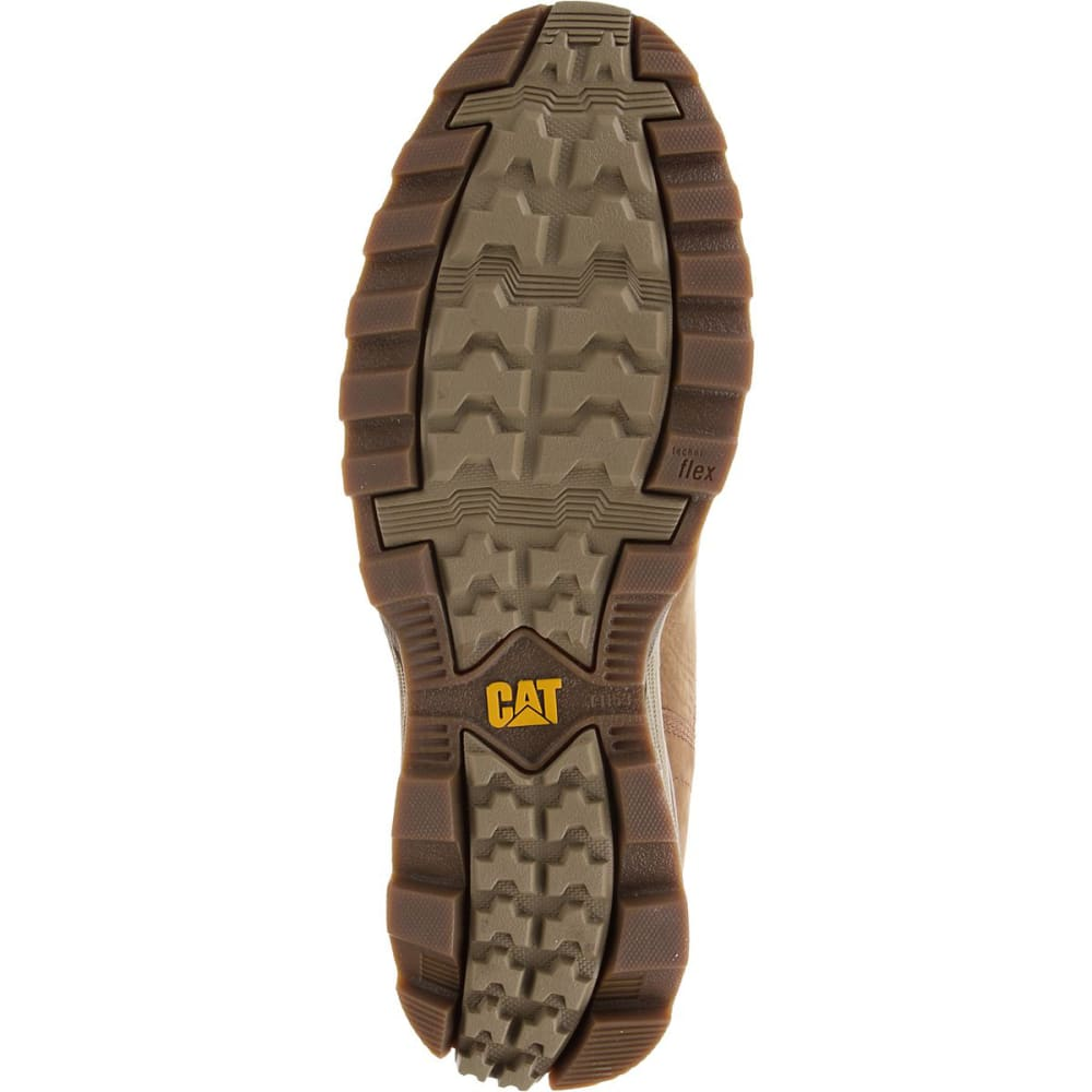CATERPILLAR Men's 6 in. Sire Waterproof Work Boots, Brown Sugar - BRN SUGAR