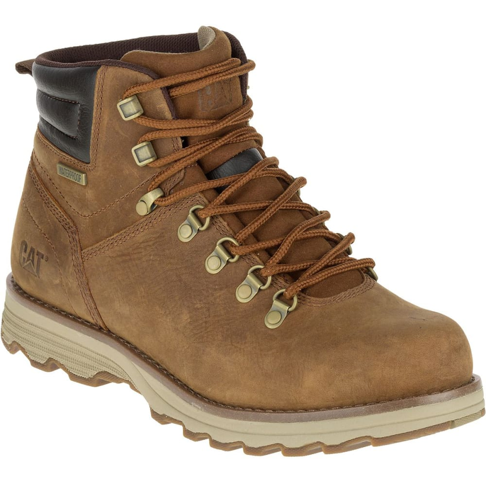 CATERPILLAR Men's 6 in. Sire Waterproof Work Boots, Brown Sugar