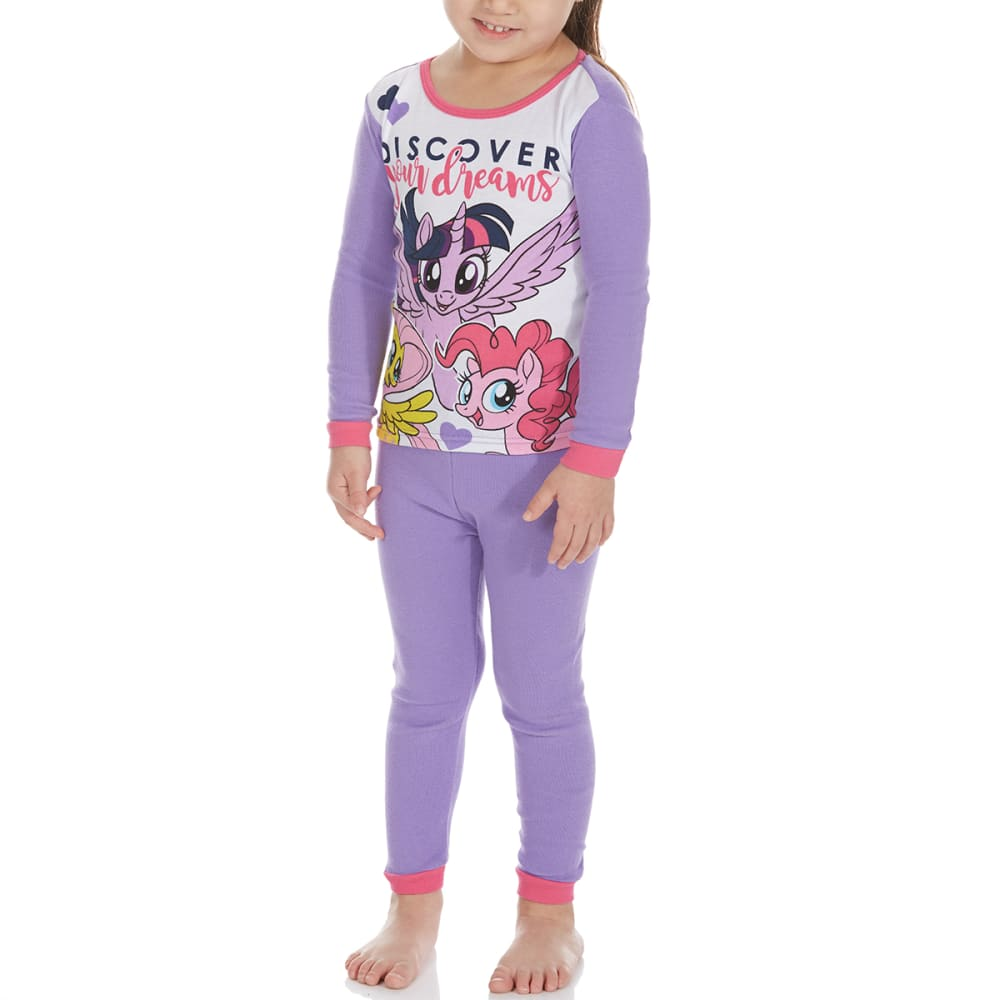 AME Little Girls' 4-Piece My Little Pony Sleep Set - ASSORTED