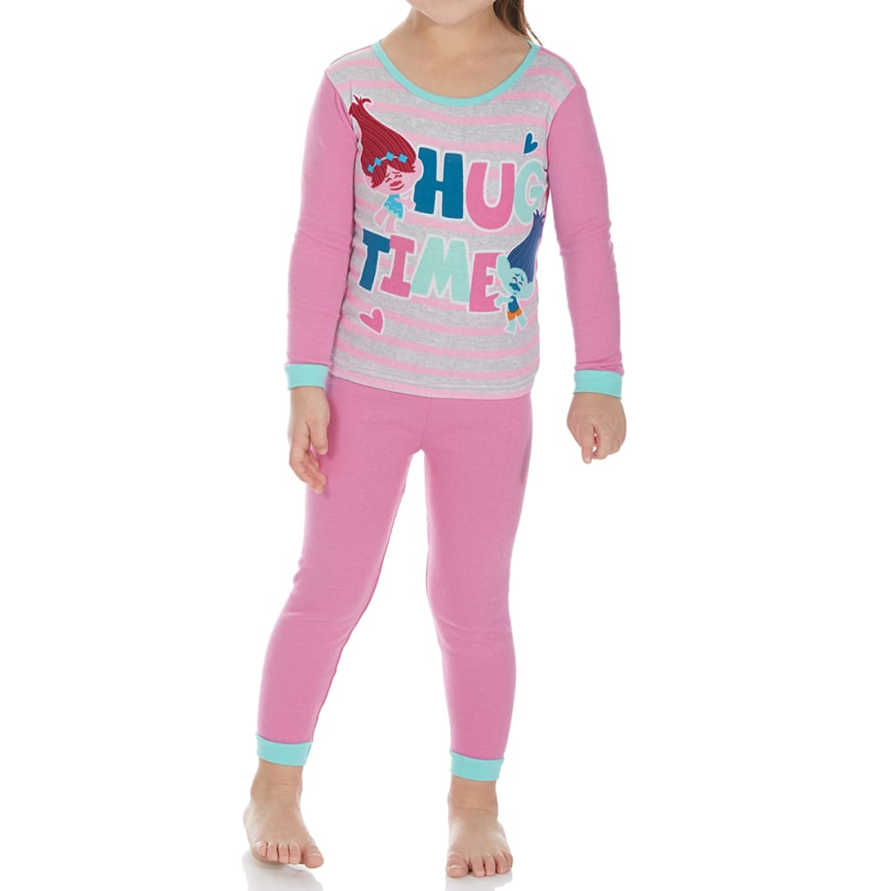 AME Little Girls' 4-Piece Trolls Sleep Set - ASSORTED