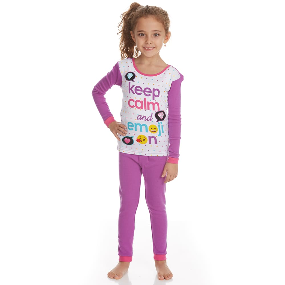 Ame Girls 3-Piece Emoji Sleep Set - Various Patterns, 4