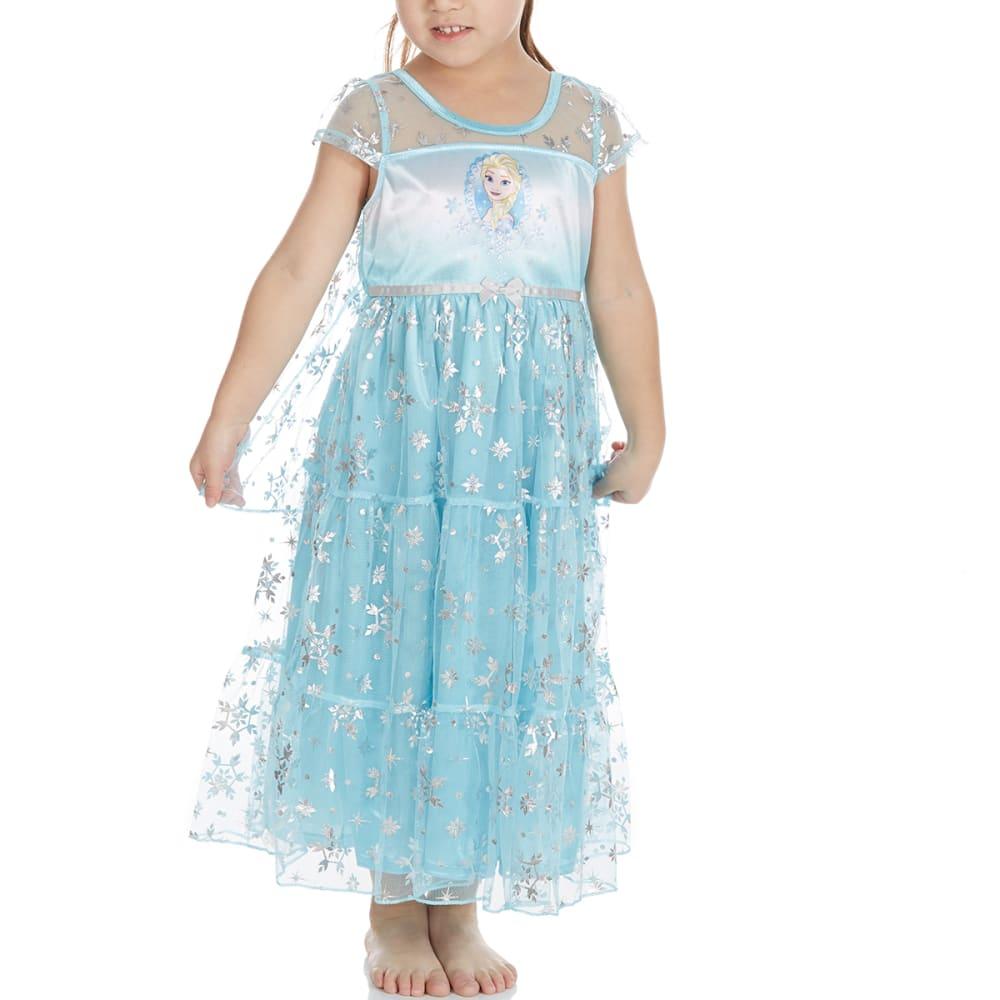 AME Little Girls' Elsa Frozen Nightgown - ASSORTED