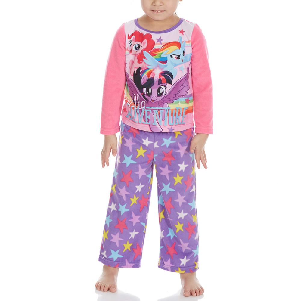 Ame Little Girls Two-Piece My Little Pony Fleece Sleep Set - Various Patterns, 4