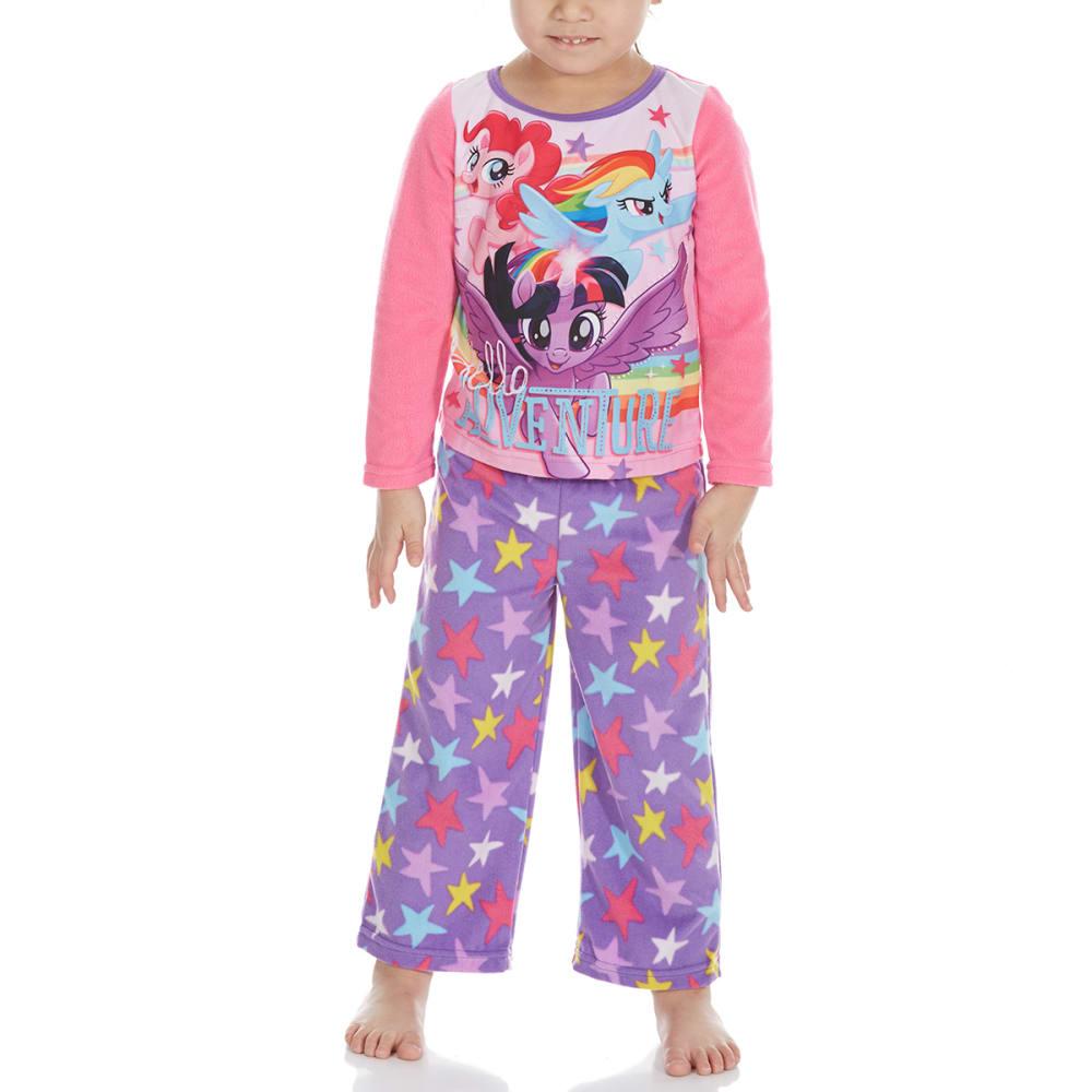 AME Little Girls' Two-Piece My Little Pony Fleece Sleep Set 4