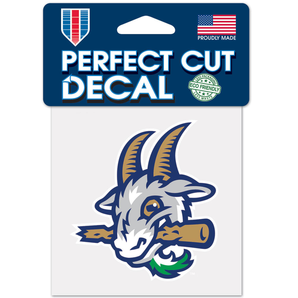 HARTFORD YARD GOATS Perfect Cut Color Decal - BLUE