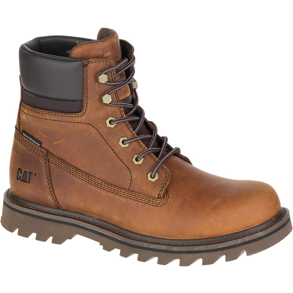 CATERPILLAR Men's 6 in. Deplete Waterproof Work Boots, Brown