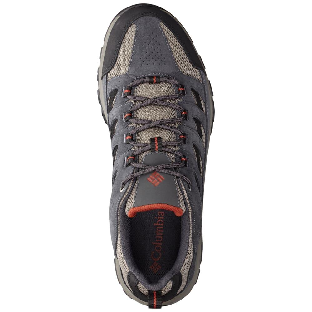 COLUMBIA Men's Crestwood Low Waterproof Hiking Shoes - QUARRY