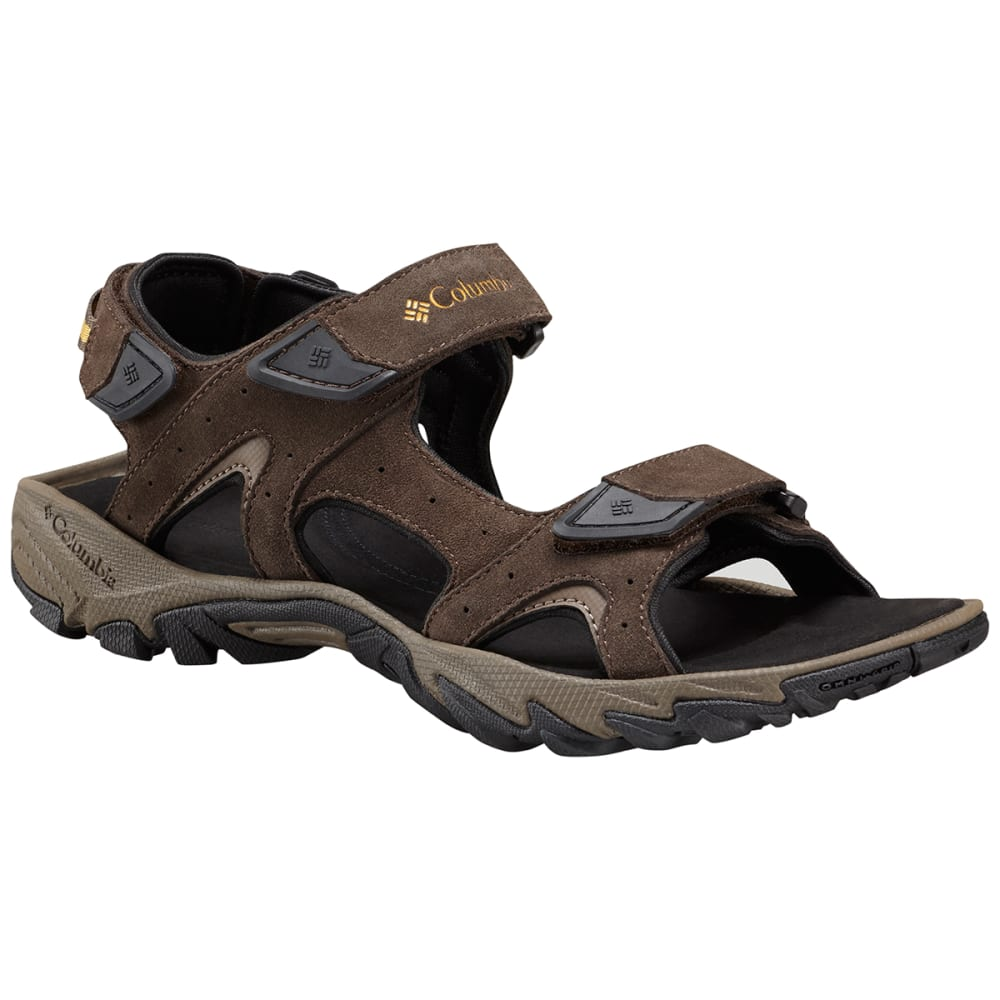 Columbia Men's Santiam 3 Strap Sandals - Brown, 11