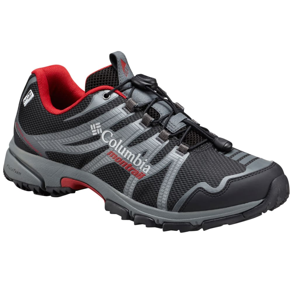 COLUMBIA Men's Mountain Masochist IV OutDry Waterproof Trail Running Shoes - BLACK ROCKET