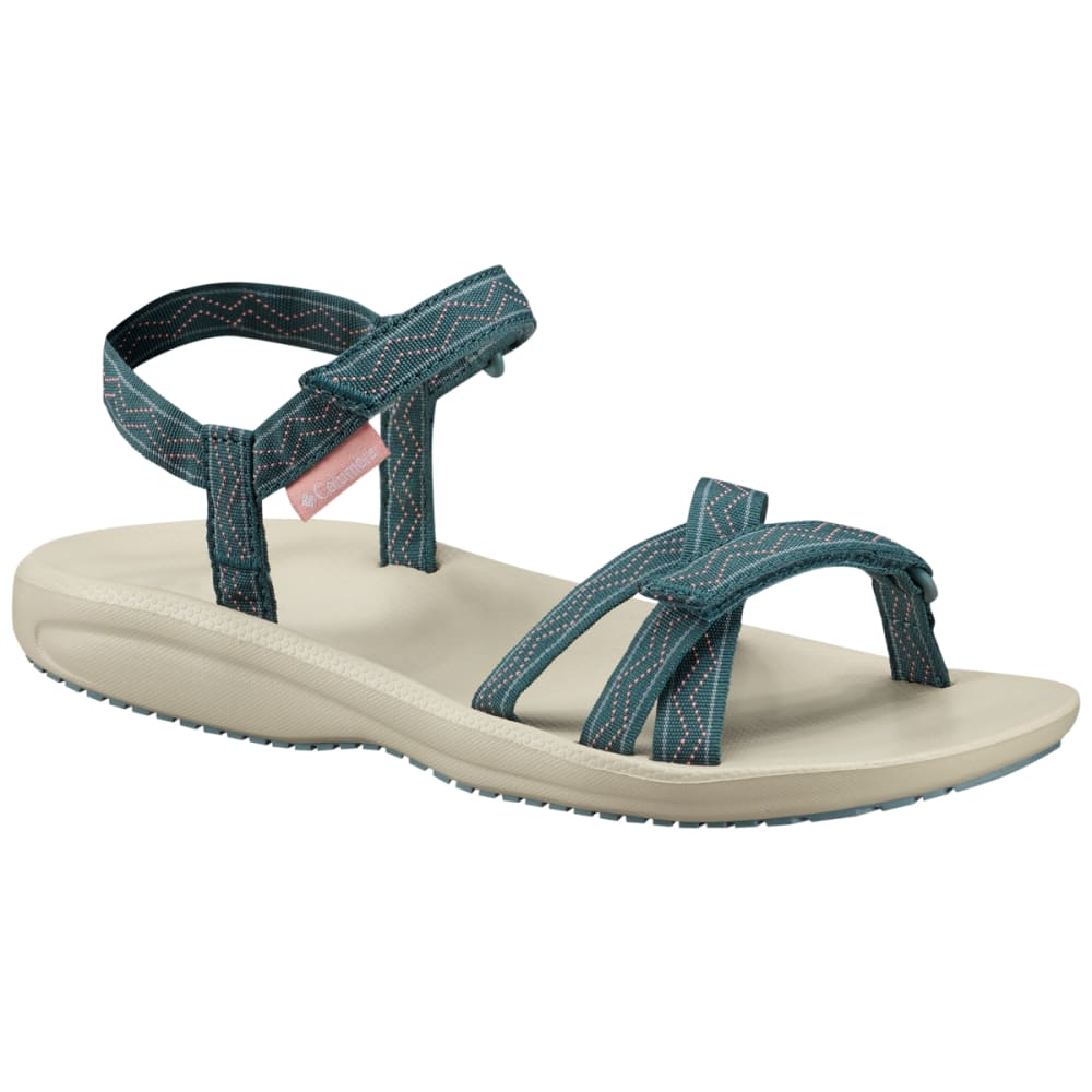 COLUMBIA Women's Wave Train Sandal - CLOUDBURST/WHT