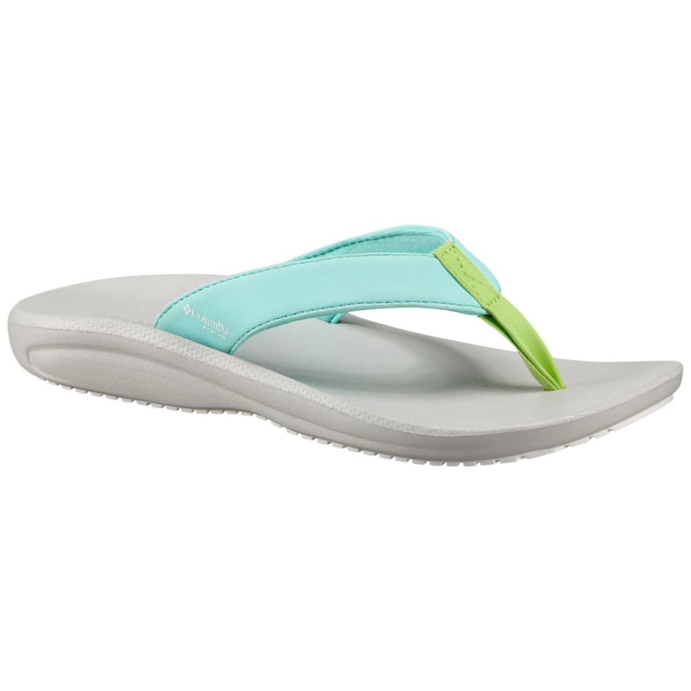 COLUMBIA Women's Barraca Flip - GULF STREAM/WHITE