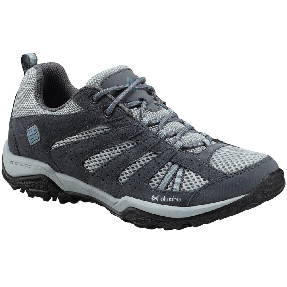 Columbia Women's Dakota(TM) Drifter Low Hiking Shoes - Black, 6