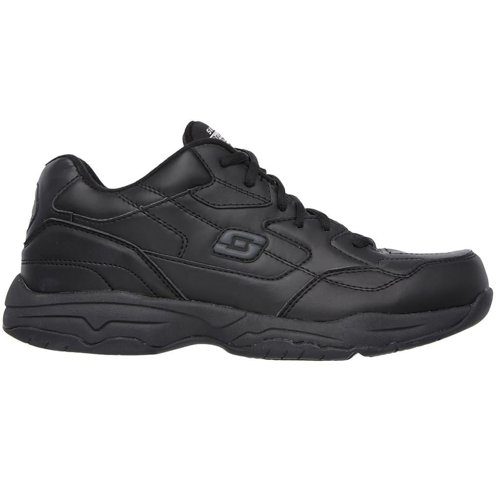 SKECHERS Men's Work Relaxed Fit: Felton -  Altair Work Shoes - BLACK