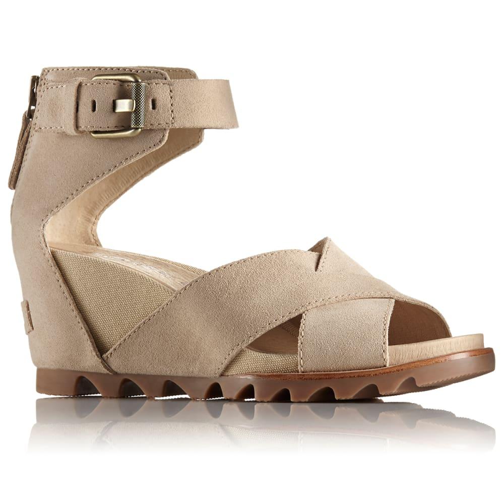SOREL Women's Joanie II Sandals - OATMEAL