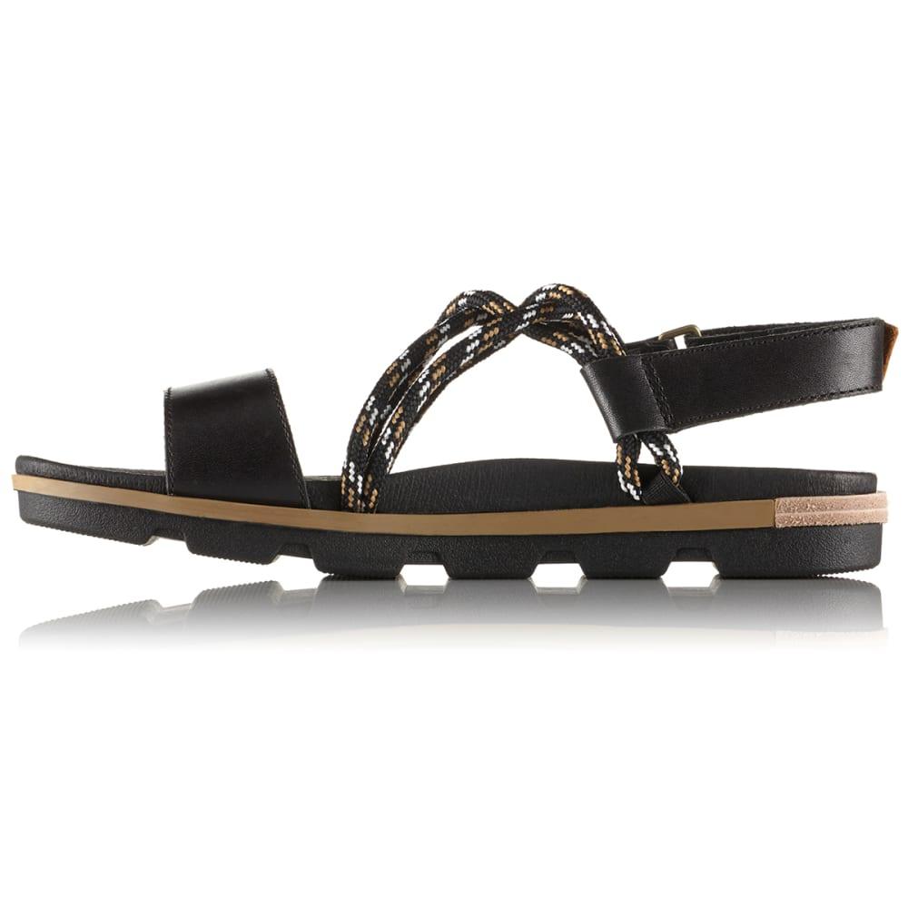 SOREL Women's Torpeda II Sandals - BLACK