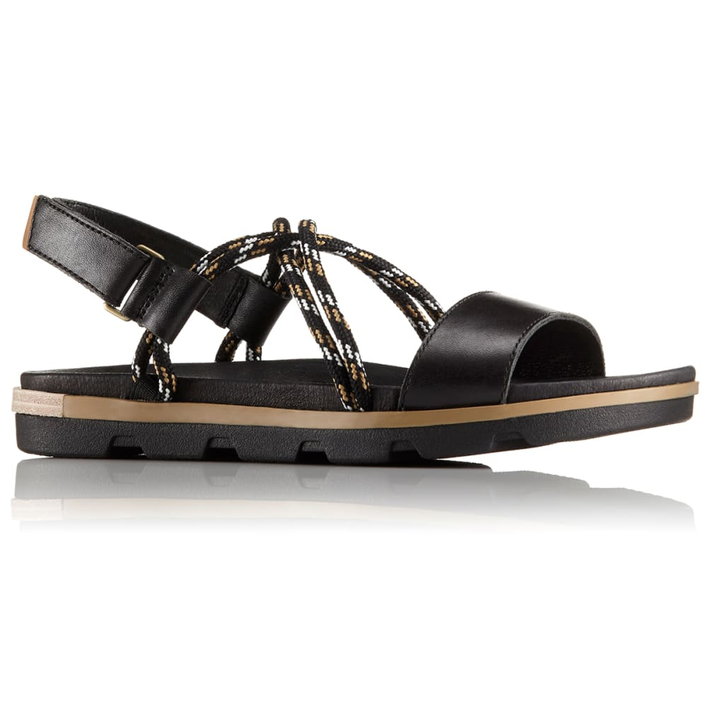 SOREL Women's Torpeda II Sandals - BLACK