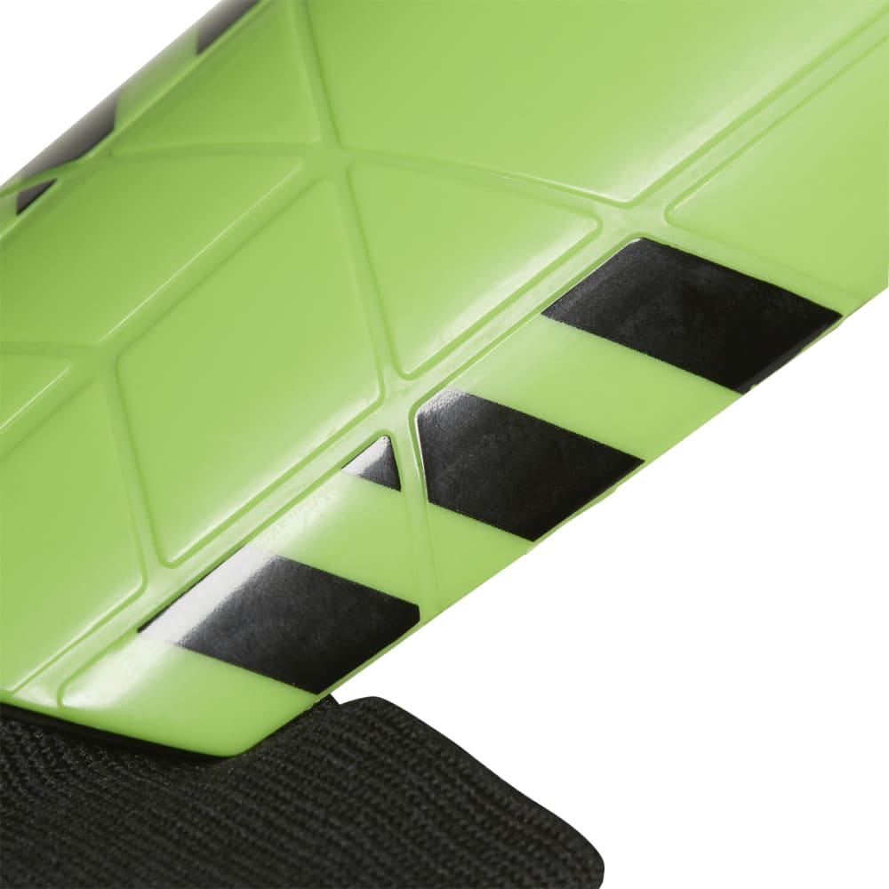 ADIDAS Kids' Ghost Shin Guards - GREEN/BLACK