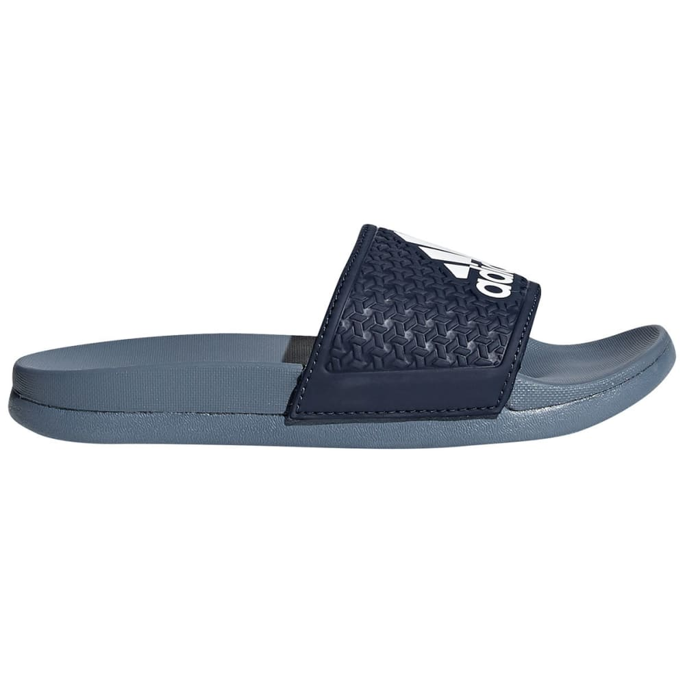ADIDAS Boys' Adilette Cloudfoam Plus Slide Sandals - NAVY
