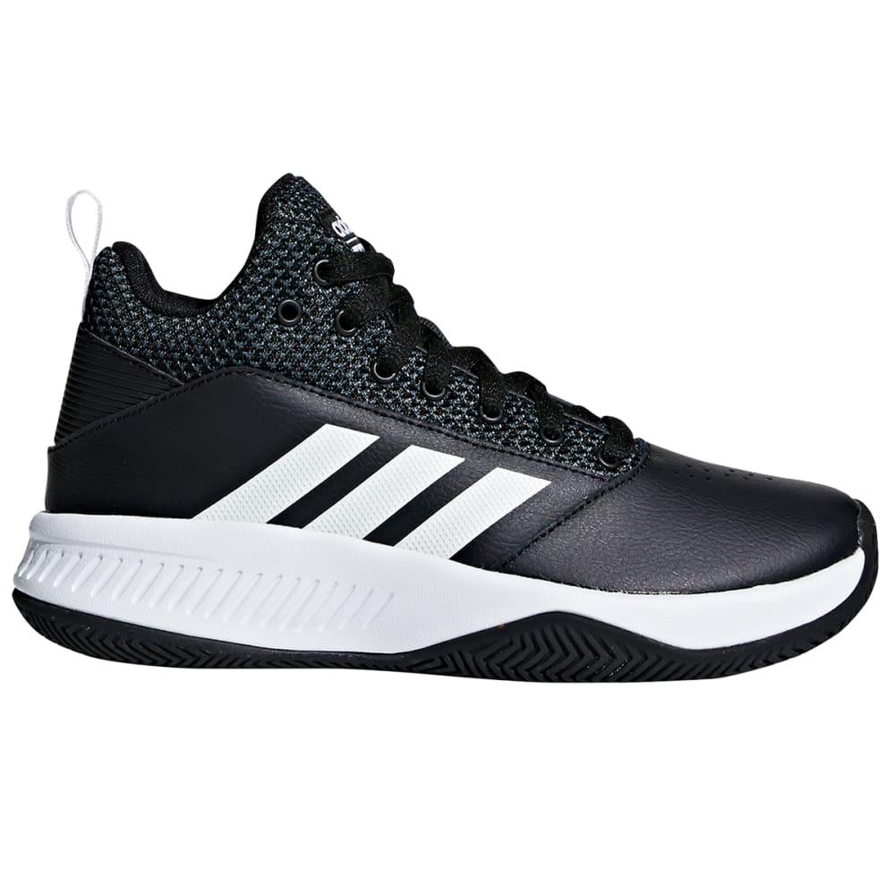 ADIDAS Boys' Cloudfoam Ilation 2.0 K Basketball Shoes - BLACK/WHITE