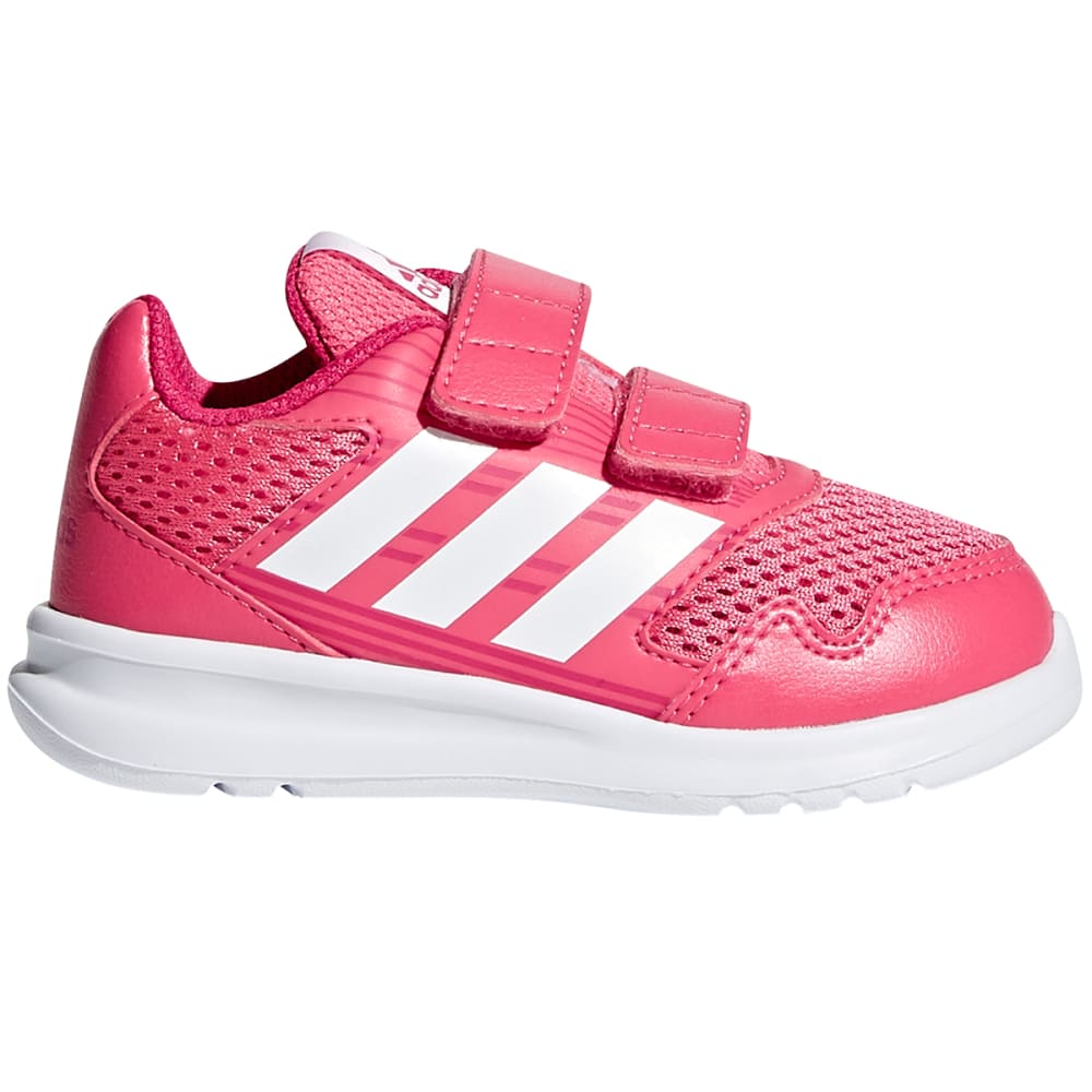 ADIDAS Infant Girls' AltaRun Shoes - PINK/WHITE/BERRY