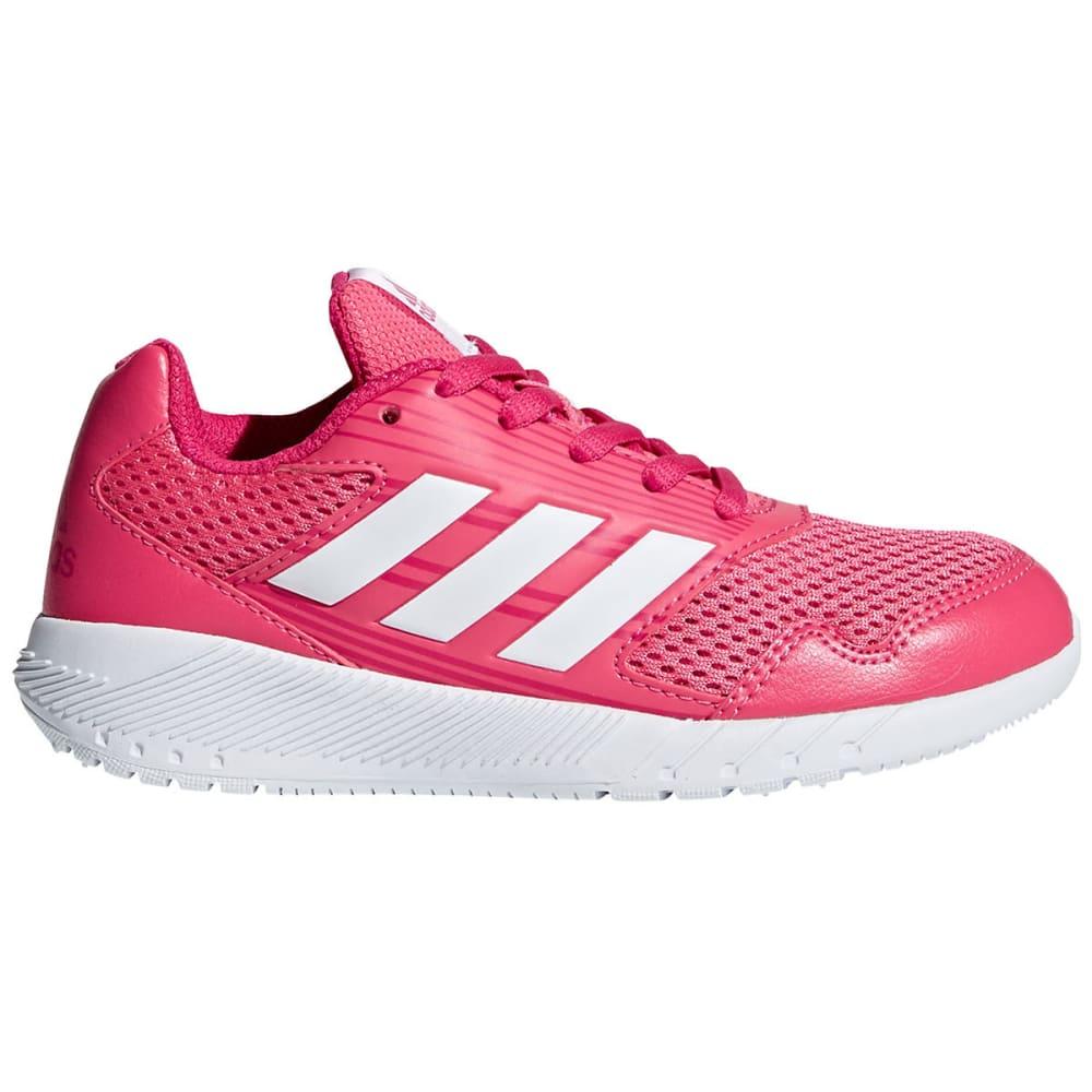 ADIDAS Little Girls' AltaRun K Running Shoes - PINK/WHITE/BERRY