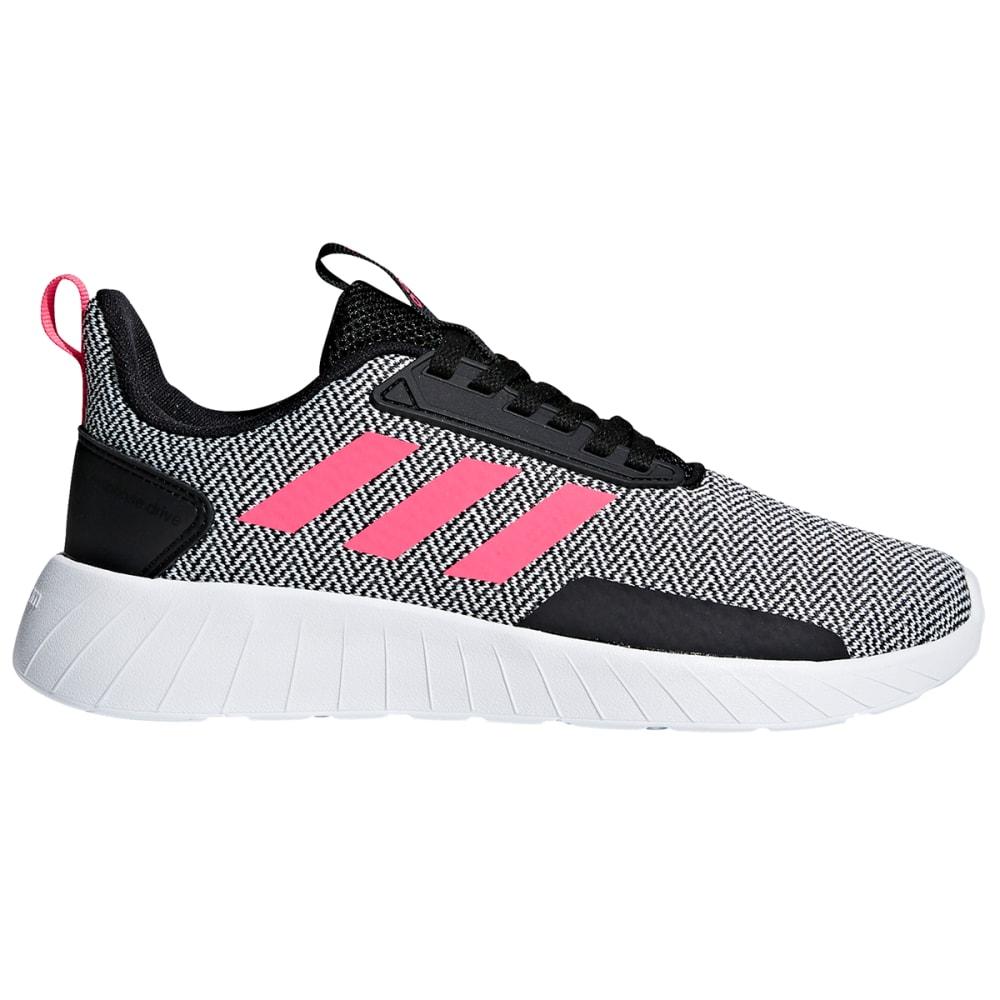 Adidas Girls' Questar Drive K Running Shoe - Black, 6