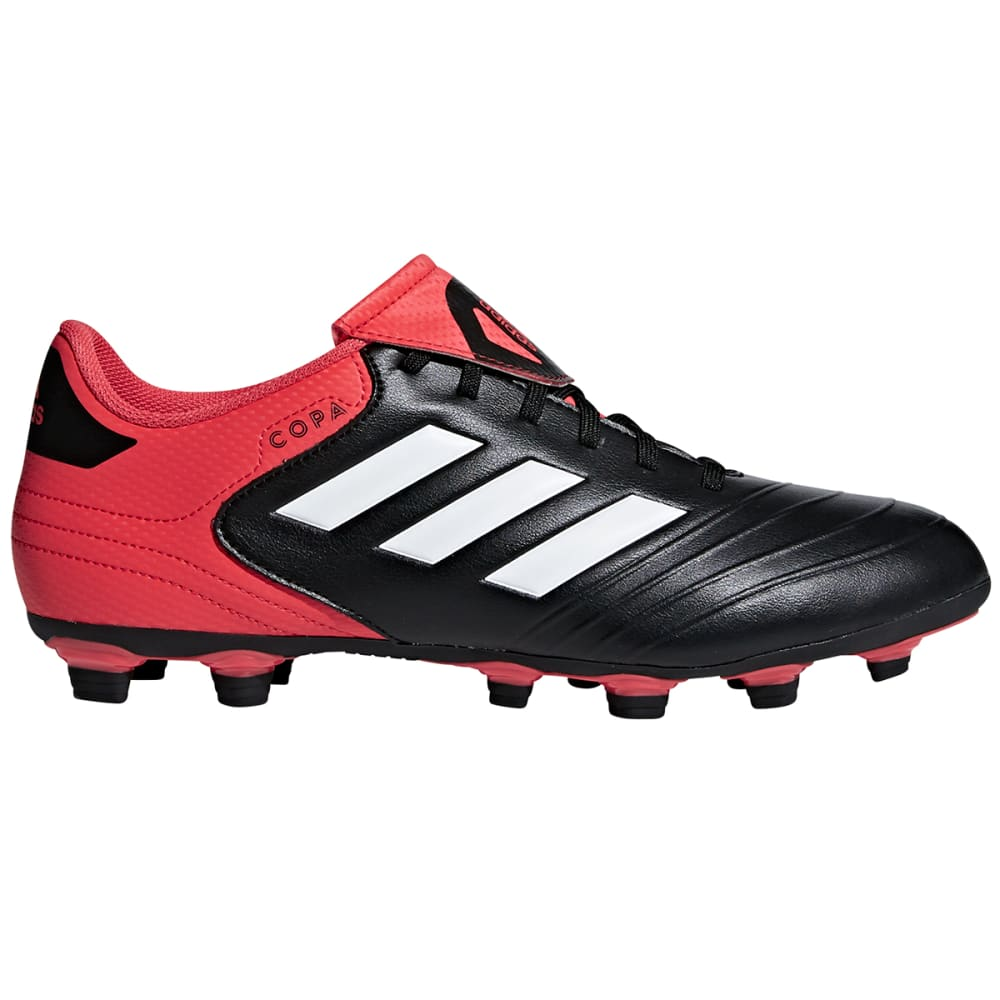 ADIDAS Men's Copa 18.4 FXG Firm Ground Soccer Cleats - BLACK