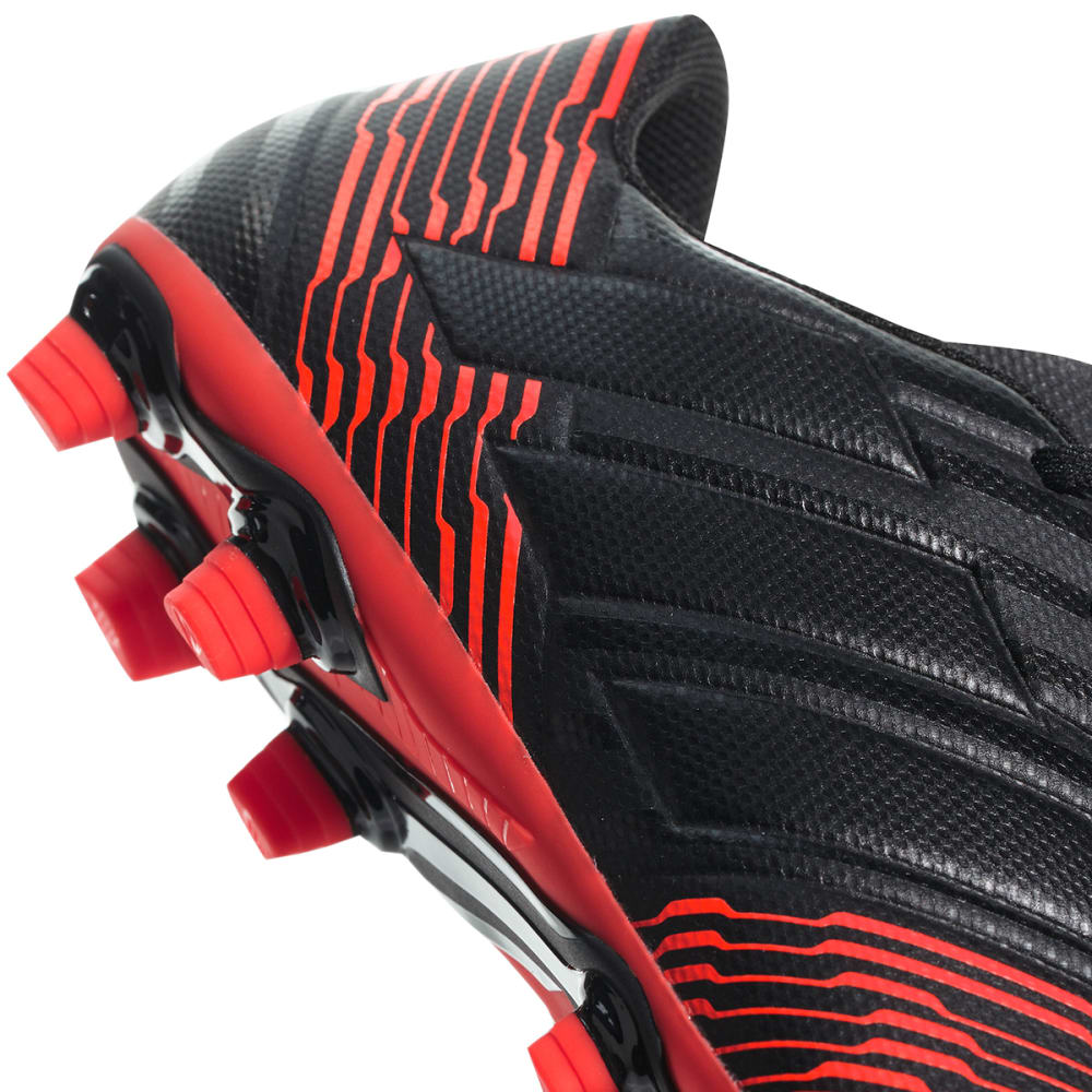 ADIDAS Men's Nemeziz Messi 17.4 Firm Ground Soccer Cleats - BLACK/RED