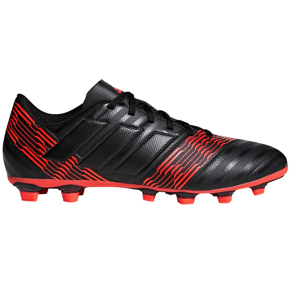 ADIDAS Men's Nemeziz Messi 17.4 Firm Ground Soccer Cleats - BLACK/RED