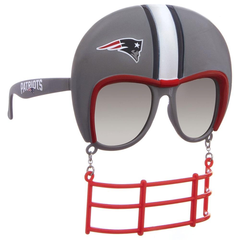 NEW ENGLAND PATRIOTS Novelty Helmet Sunglasses - NO COLOR