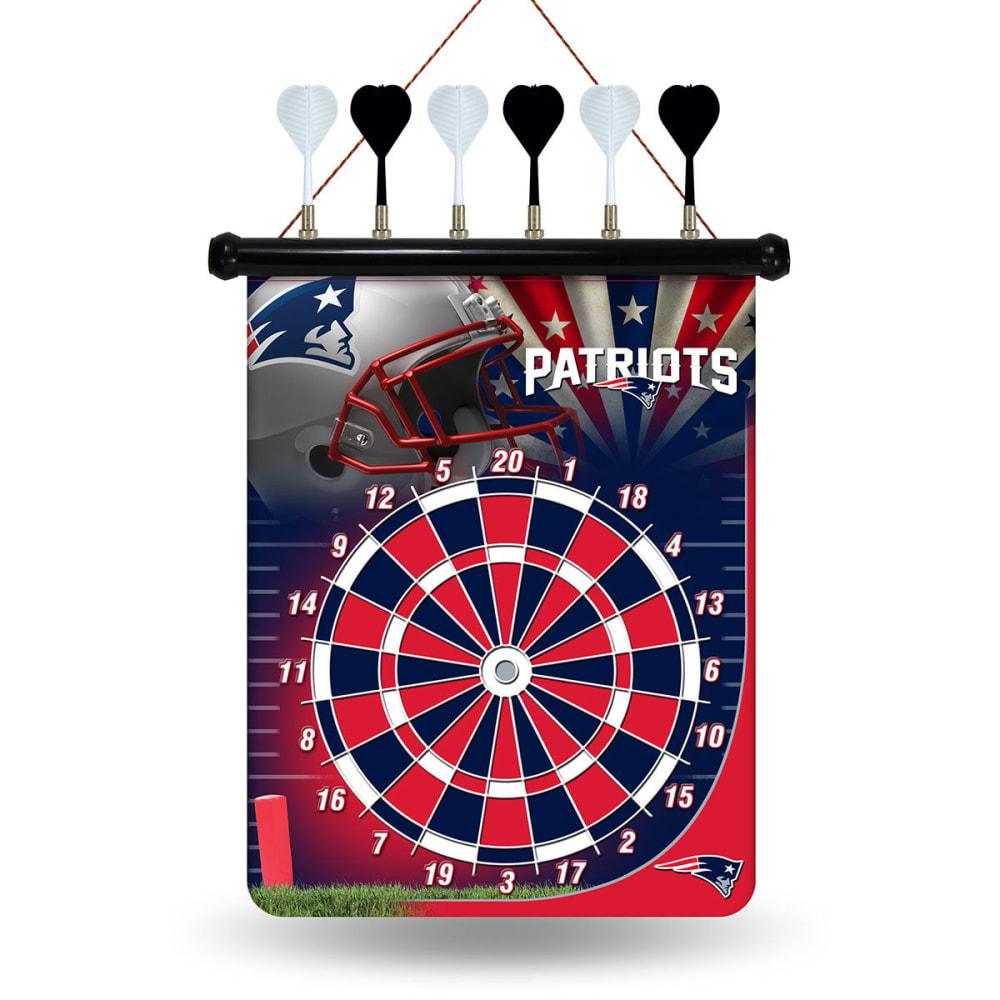 NEW ENGLAND PATRIOTS Magnetic Dartboard - NO COLOR