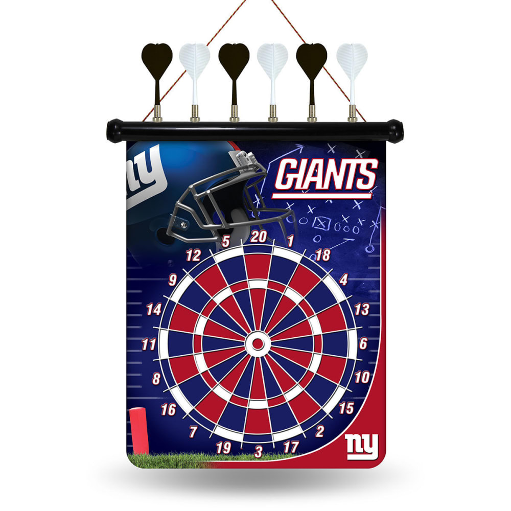 NEW YORK GIANTS Magnetic Dart Board - NO COLOR