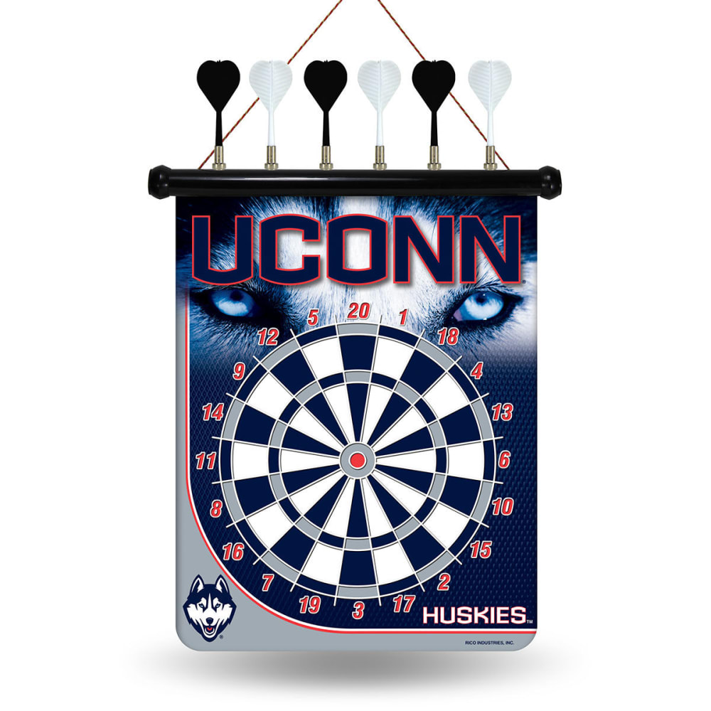 UCONN Magnetic Dart Board Set - NO COLOR