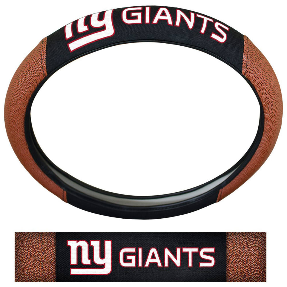 NEW YORK GIANTS Steering Wheel Cover - NO COLOR