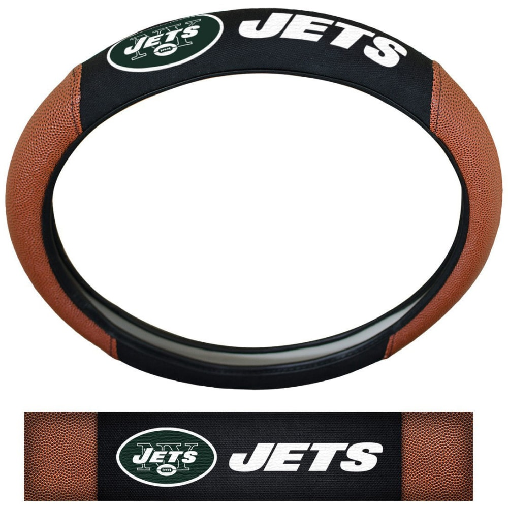NEW YORK JETS Steering Wheel Cover - NO COLOR