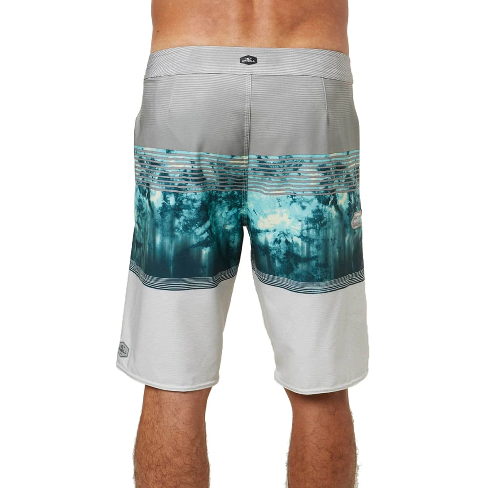 O'NEILL Men's Hyperfreak Boardshorts - LIGHT GREY-LGR