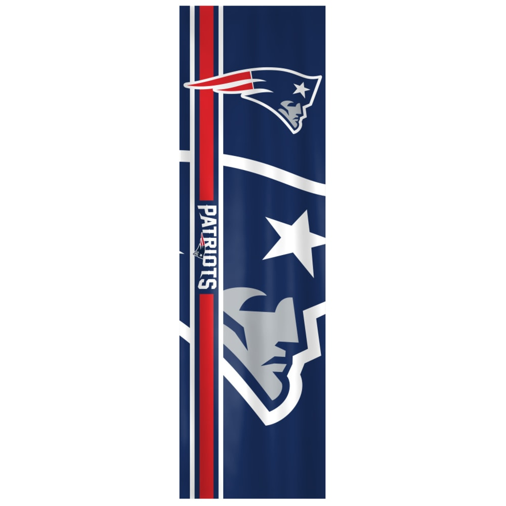 NEW ENGLAND PATRIOTS Two-Sided Door Wrap - NO COLOR