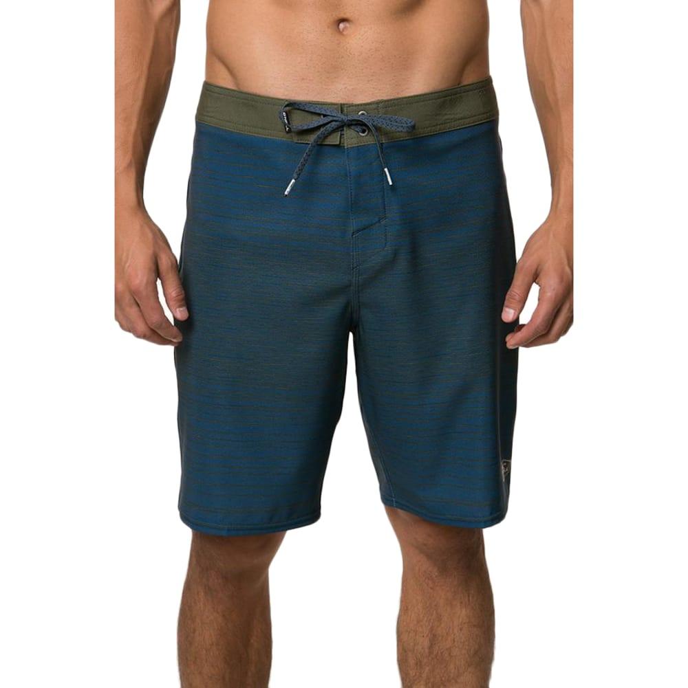 O'neill Men's Hyperfreak Sketchy Boardshort - Blue, 30