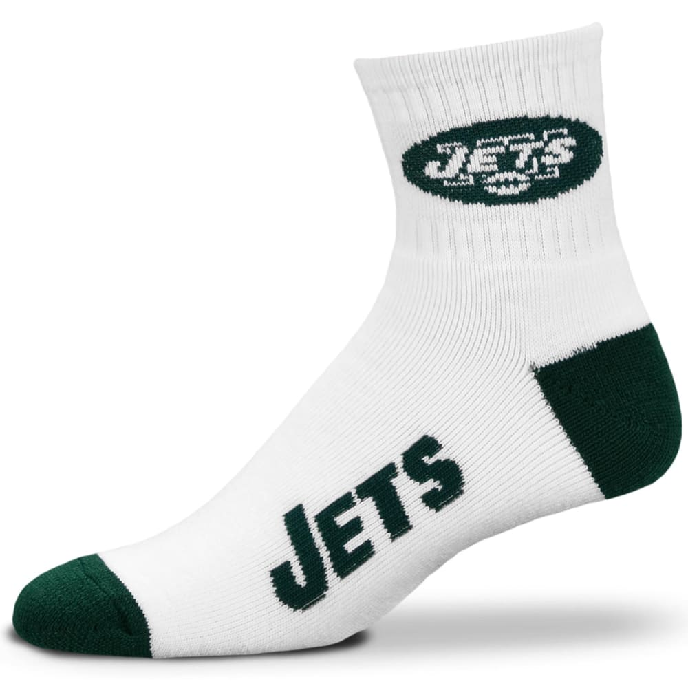 NEW YORK JETS Logo Name Socks - GREEN