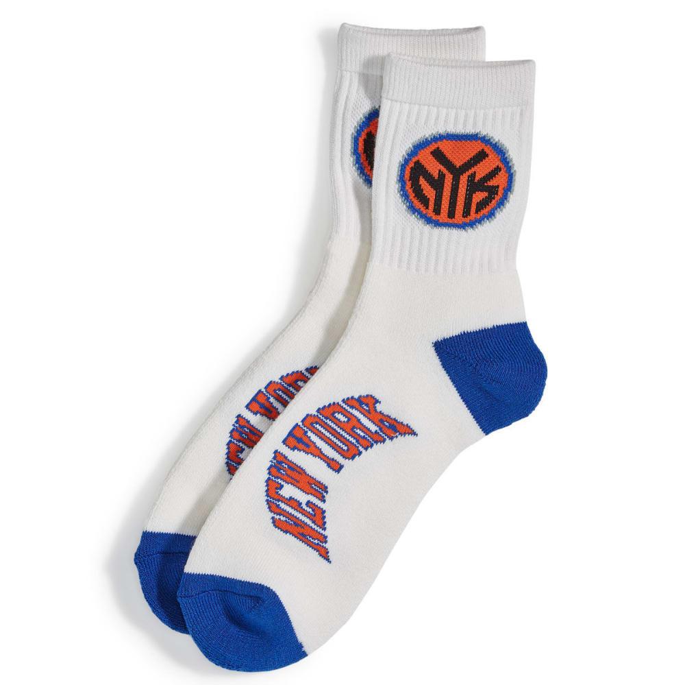 NEW YORK KNICKS Logo Name Socks - ROYAL BLUE