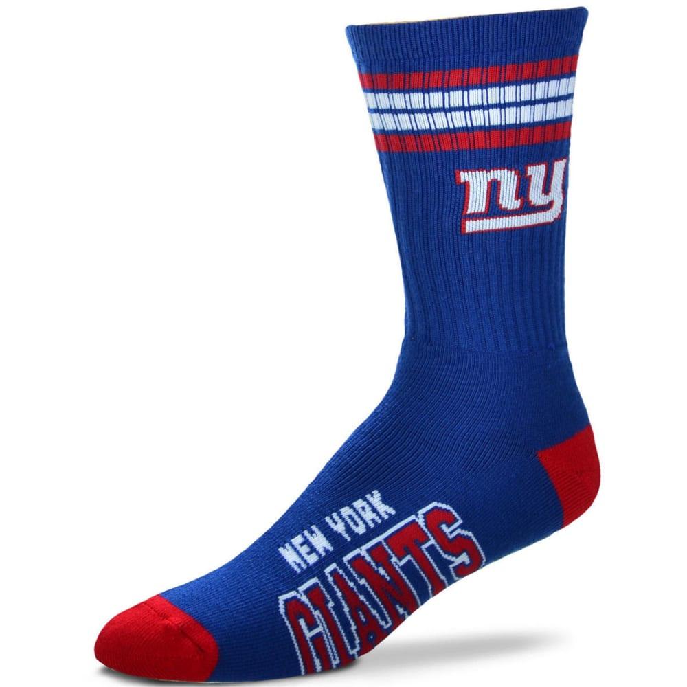 NEW YORK GIANTS Women's Four Stripe Deuce Socks - ROYAL BLUE