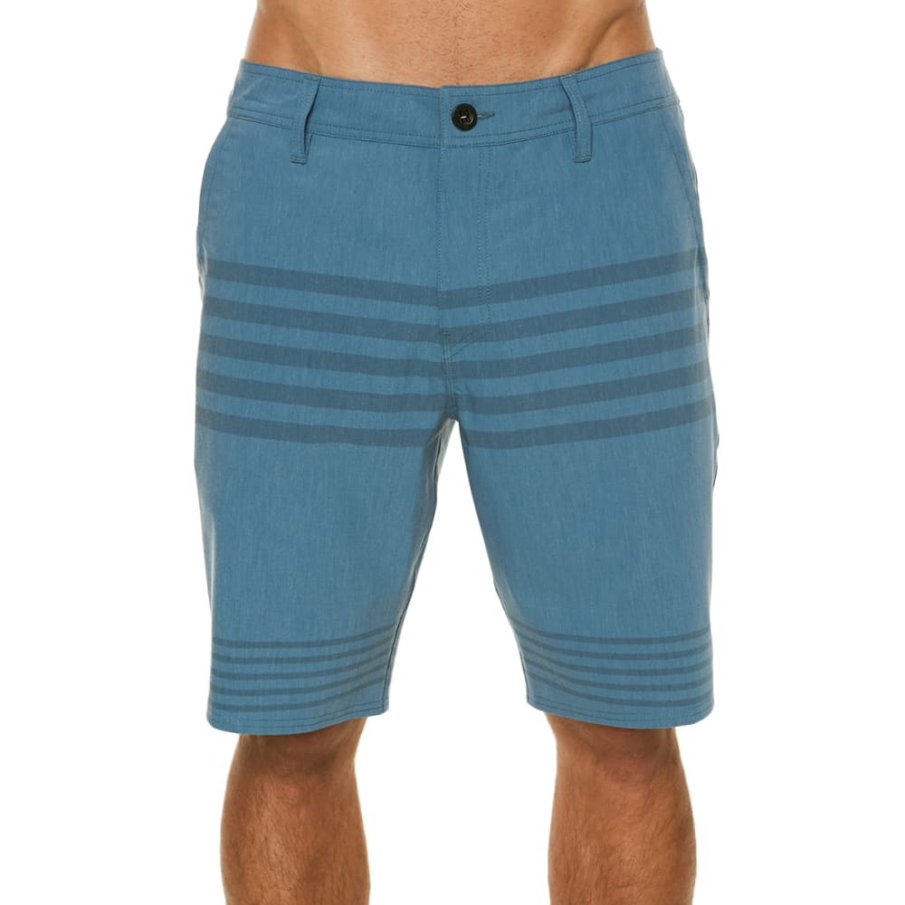 O'neill Men's Mixed Hybrid Shorts - Blue, 30