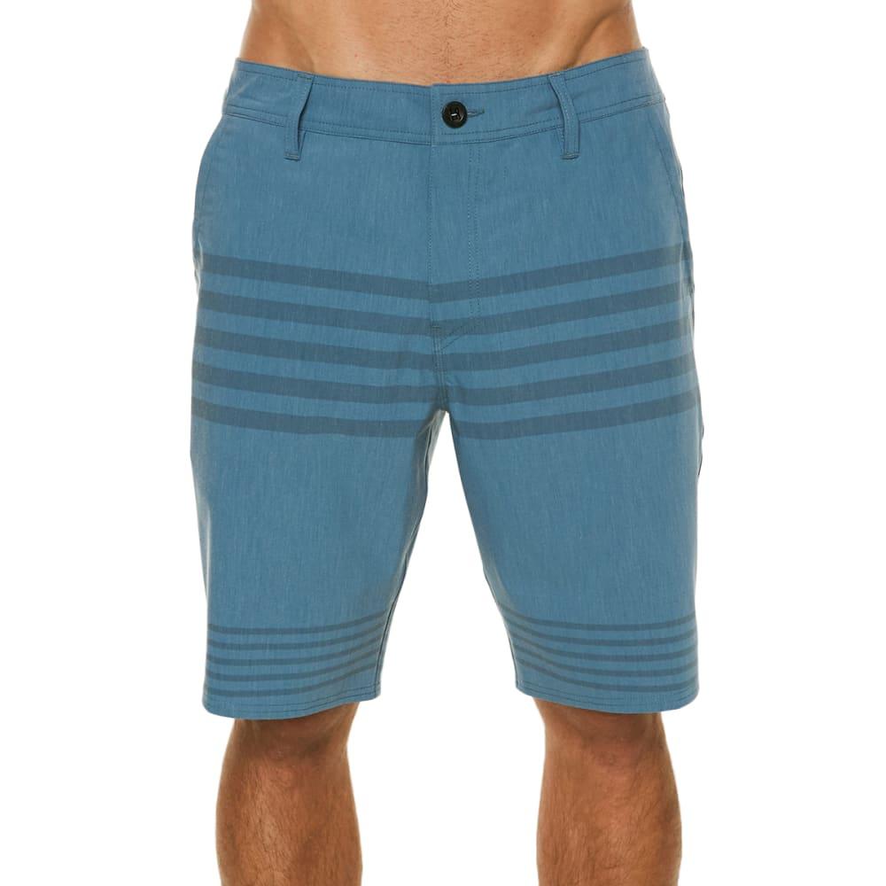 O'neill Men's Mixed Hybrid Shorts - Blue, 38