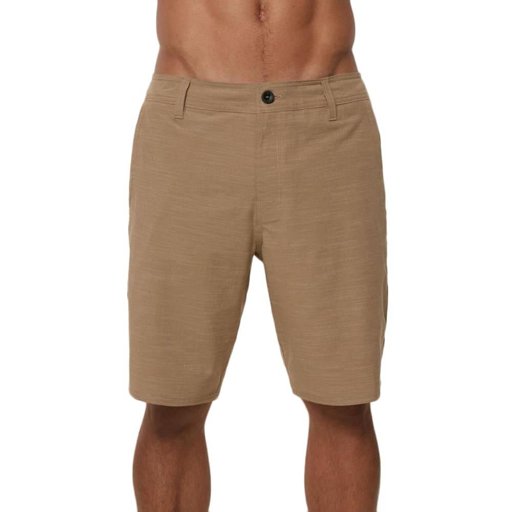 O'NEILL Men's Locked Slub Hybrid Short - KHAKI