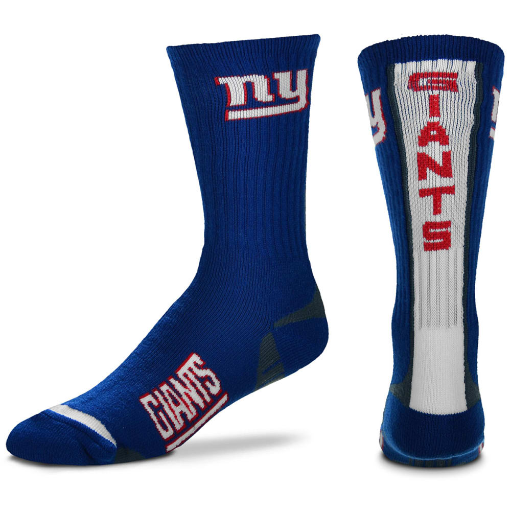 NEW YORK GIANTS Men's Team Vortex Crew Socks - ROYAL BLUE